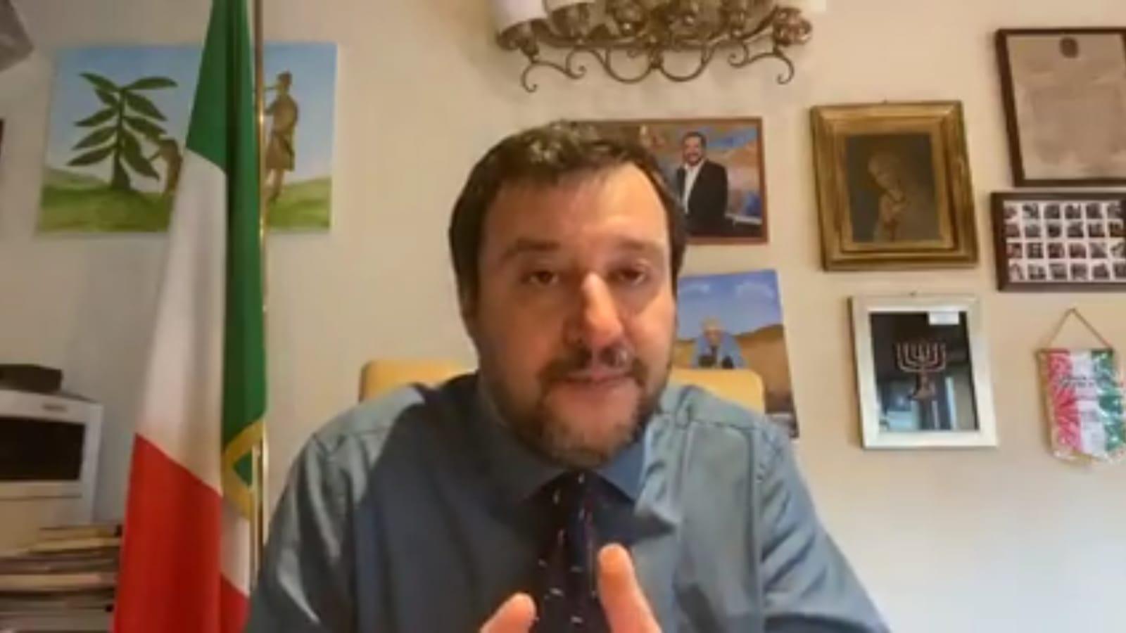 gregoretti; Salvini; salvini covid-19;
